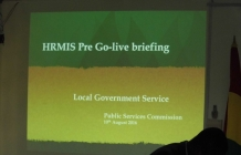 Official Launch of HRMIS Go-Live for LGS by PSC @LGSS Conference Room