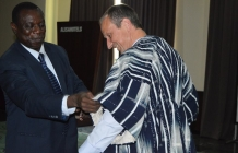 Send off lunch for Dr. Martin Lux, senior project manager of KfW in Ghana