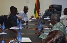 Head of Service meets representatives of the Schools of Hygiene