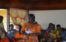 HoS & Mgt of LGSS as part of their mgt retreat paid a working visit to the Sunyani West Dist. Ass. A staff durbar was held @ the conf. room