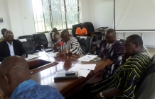HoS visit to Upper East RCC to meet MDCDs and Administrative officers