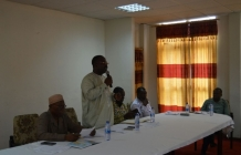 HoS visit to Volta RCC to meet MDCDs and Administrative officers