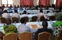 Orientation Programme for the Heads of Agric Department from MMDAs/RCCs in the Greater Accra, Central and Western Regions held at Pempamsie Hotel, Cape Coast