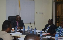 The 8th Local Government Service Secretariat Management meeting held at the Secretariat's Conference room