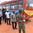 HEAD OF LOCAL GOVERNMENT SERVICE DONATES BUS TO EGASS