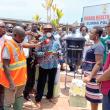 DR NANA ATO ARTHUR DONATES TO CLINICS AND PALACES IN KEEA