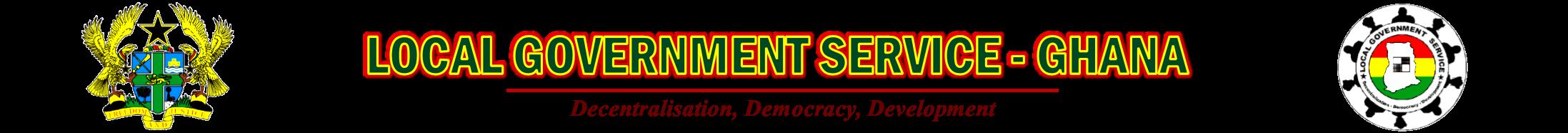LOCAL GOVERNMENT SERVICE Logo